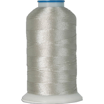 Rayon Thread No. 426 - Silver - 1000M - Threadart.com