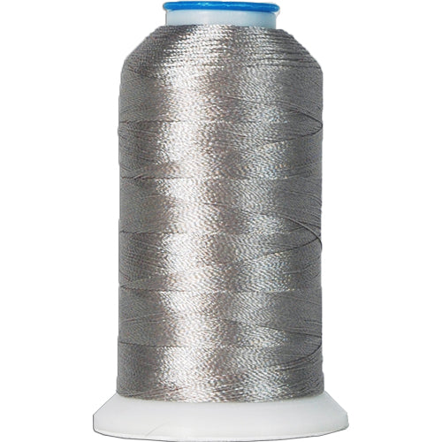Polyester Embroidery Thread No. 427 - Grey - 1000M - Threadart.com
