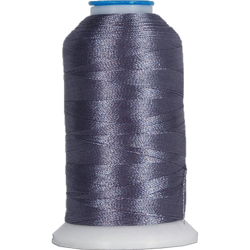 Polyester Embroidery Thread No. 430 - Steel Grey - 1000M - Threadart.com