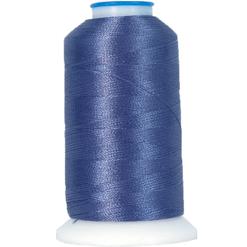 Polyester Embroidery Thread No. 435 - College Blue - 1000M - Threadart.com