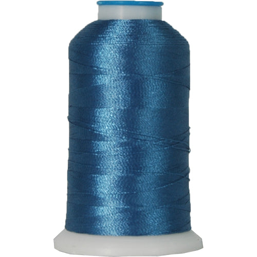 Polyester Embroidery Thread No. 466 - Blue Teal - 1000M - Threadart.com