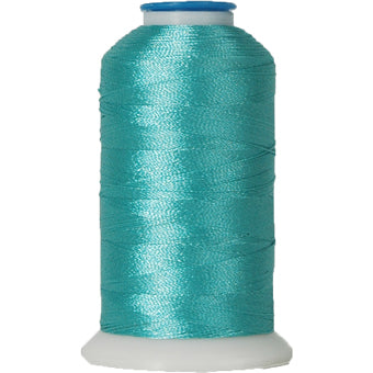 Polyester Embroidery Thread No. 467 - Cyan - 1000M - Threadart.com