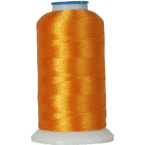 Polyester Embroidery Thread No. 478 - Orange Yellow - 1000M - Threadart.com