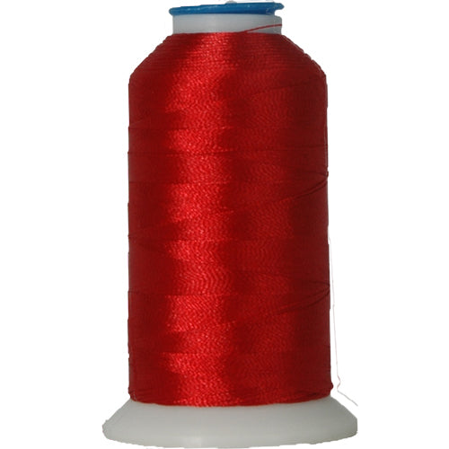 Polyester Embroidery Thread No. 637 - Rusty Red - 1000M - Threadart.com
