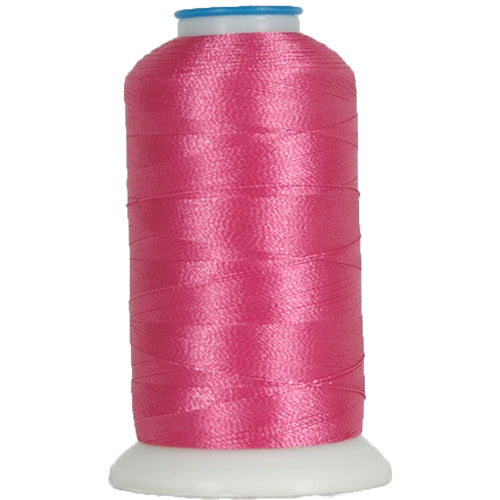 Polyester Embroidery Thread No. 674 - Hot Pink - 1000M - Threadart.com