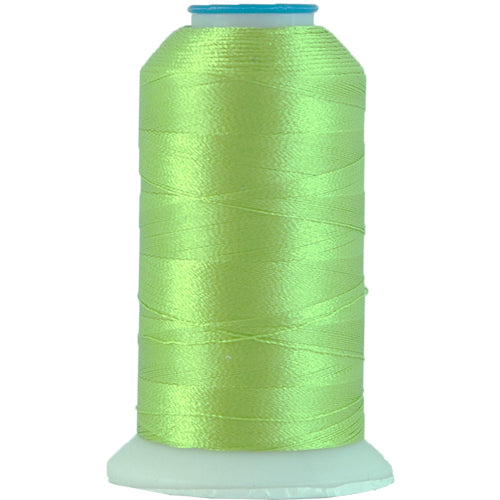 Polyester Embroidery Thread No. 675 - Lime Green - 1000M - Threadart.com