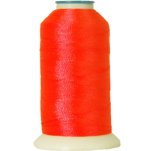 Polyester Embroidery Thread No. 908 - Neon Pink - 1000M - Threadart.com