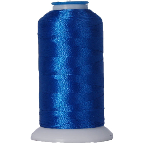 Polyester Embroidery Thread No. 934 - Electric Blue - 1000M - Threadart.com