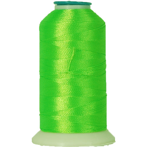 Polyester Embroidery Thread No. 950 - Neon Green - 1000M - Threadart.com