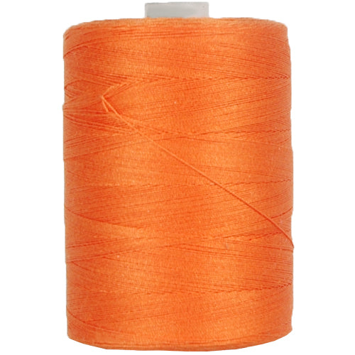 Cotton Quilting Thread -Orange -1000 Meters - 50 Wt. - Threadart.com