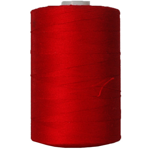 Cotton Quilting Thread - Deep Red - 1000 Meters - 50 Wt. - Threadart.com