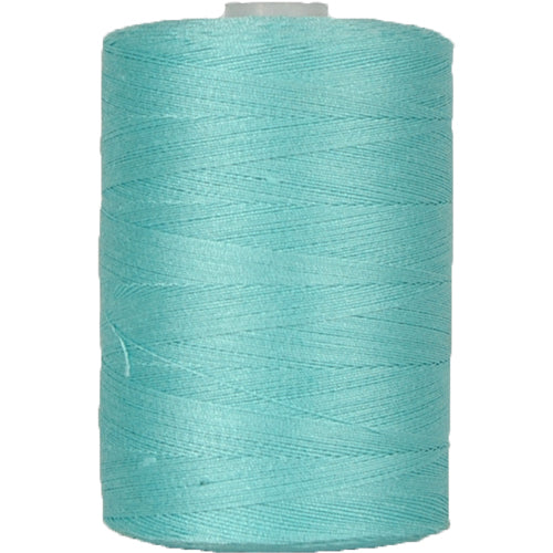 Cotton Quilting Thread - Aqua - 1000 Meters - 50 Wt. - Threadart.com