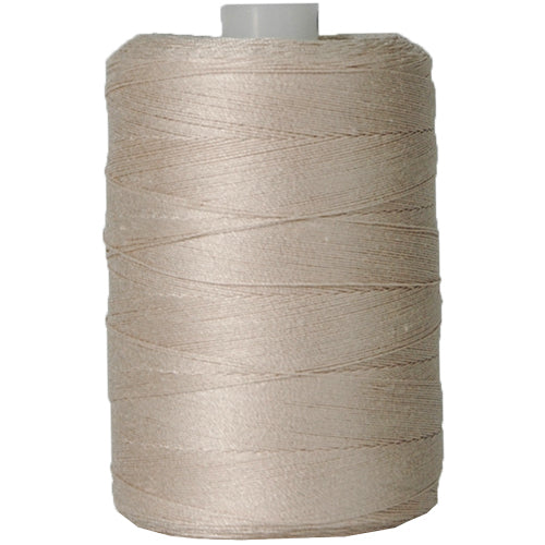 Cotton Quilting Thread - Lt. Khaki - 1000 Meters - 50 Wt. - Threadart.com