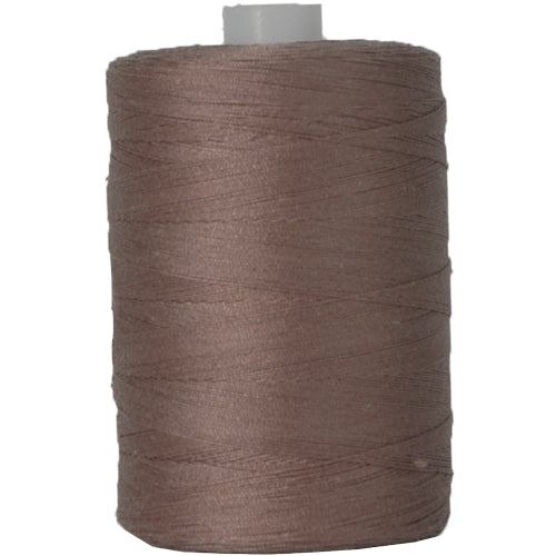 Cotton Quilting Thread - Taupe - 1000 Meters - 50 Wt. - Threadart.com