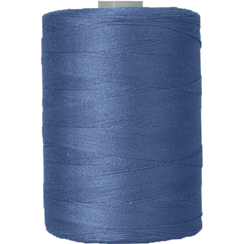 Cotton Quilting Thread - Teal Blue - 1000 Meters - 50 Wt. - Threadart.com