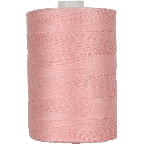 Cotton Quilting Thread - Lt. Salmon - 1000 Meters - 50 Wt. - Threadart.com