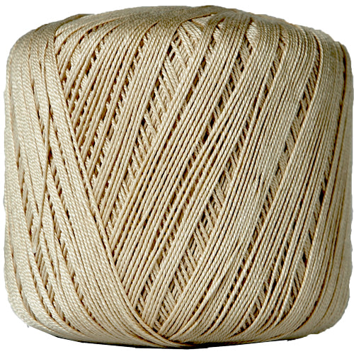 Cotton Crochet Thread - Size 10 - Tan - 175 Yds - Threadart.com