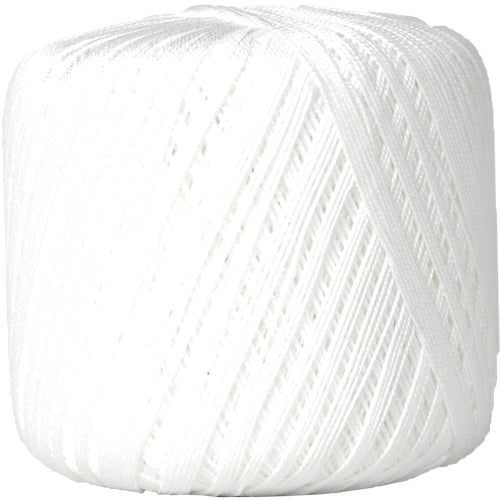 Cotton Crochet Thread - Size 10 - White - 175 Yds - Threadart.com