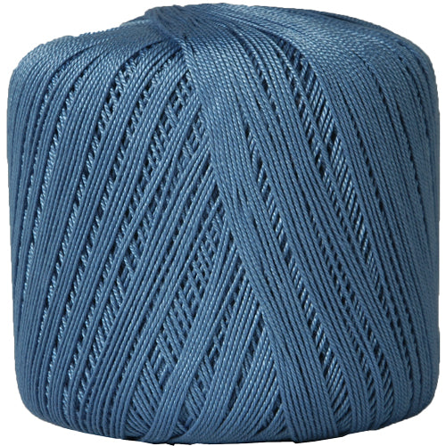 Cotton Crochet Thread - Size 10 - Slate Blue - 175 Yds - Threadart.com