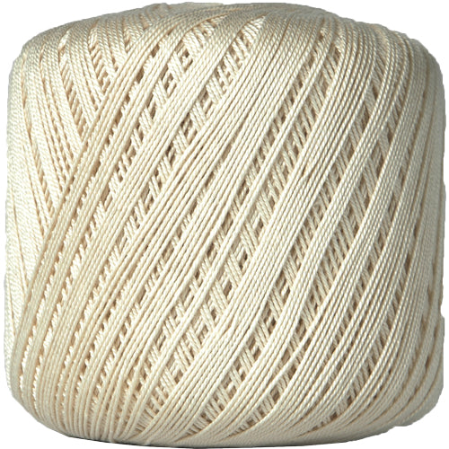 Cotton Crochet Thread - Size 10 - Natural - 175 Yds - Threadart.com