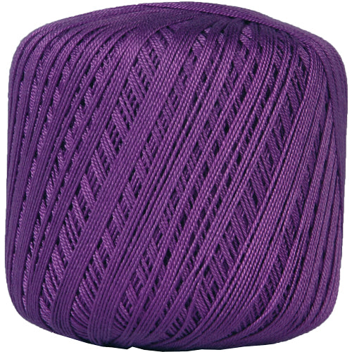 Cotton Crochet Thread - Size 10 - Purple - 175 Yds - Threadart.com