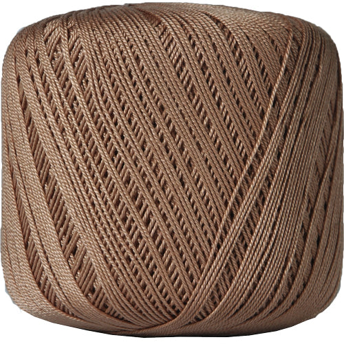 Cotton Crochet Thread - Size 10 - Lt. Brown - 175 Yds - Threadart.com