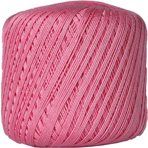 Cotton Crochet Thread - Size 10 - Pink - 175 Yds - Threadart.com