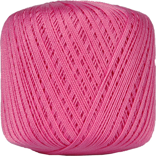 Cotton Crochet Thread - Size 10 - Hot Pink - 175 Yds - Threadart.com