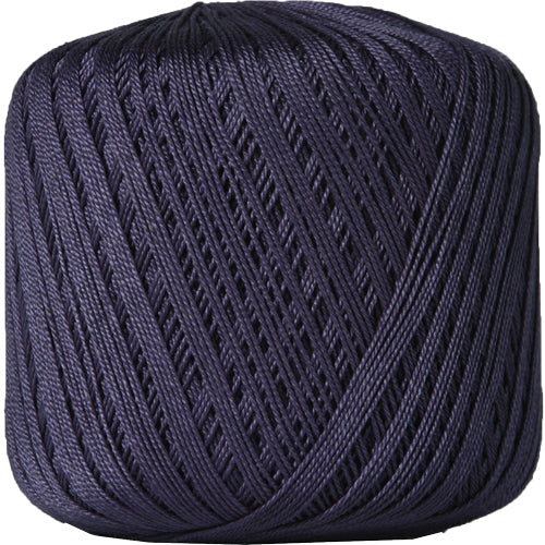 Cotton Crochet Thread - Size 10 - Navy - 175 Yds - Threadart.com