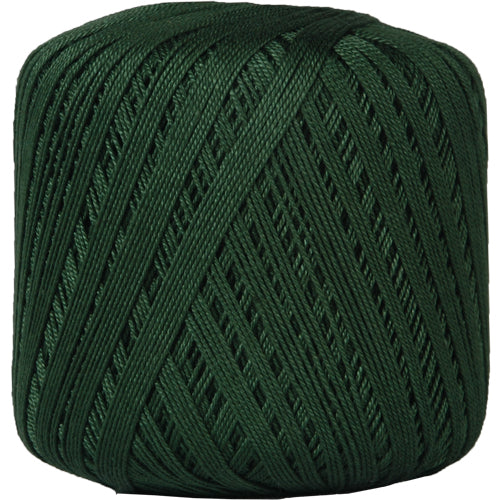 Cotton Crochet Thread - Size 10 - Holly Green - 175 Yds - Threadart.com