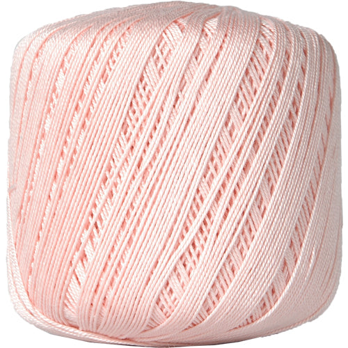 Cotton Crochet Thread - Size 10 - Lt. Pink - 175 Yds - Threadart.com