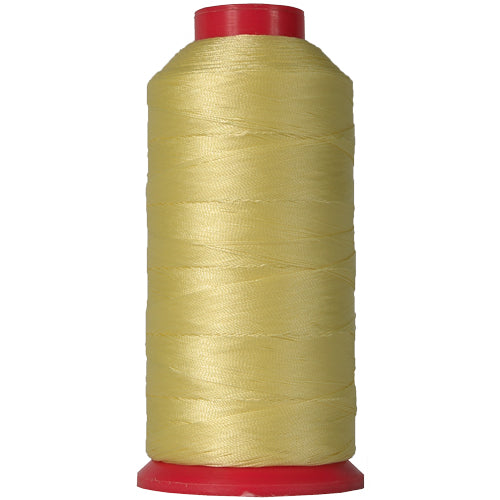 Bonded Nylon Thread - 1500 Meters - #69 - Yellow - Threadart.com