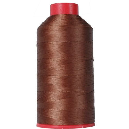 Bonded Nylon Thread - 1500 Meters - #69 - Sienna - Threadart.com