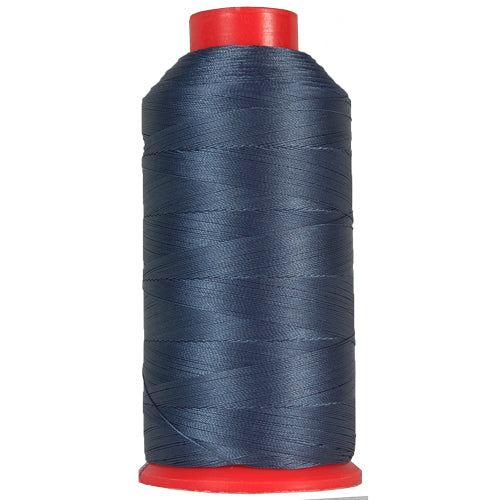 Bonded Nylon Thread - 1500 Meters - #69 - Blue - Threadart.com