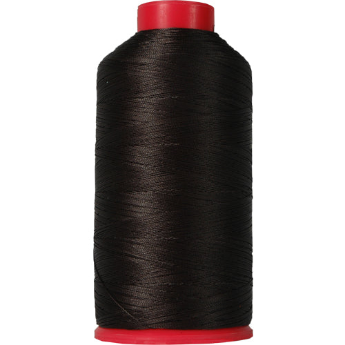 Bonded Nylon Thread - 1500 Meters - #69 - Off Black - Threadart.com