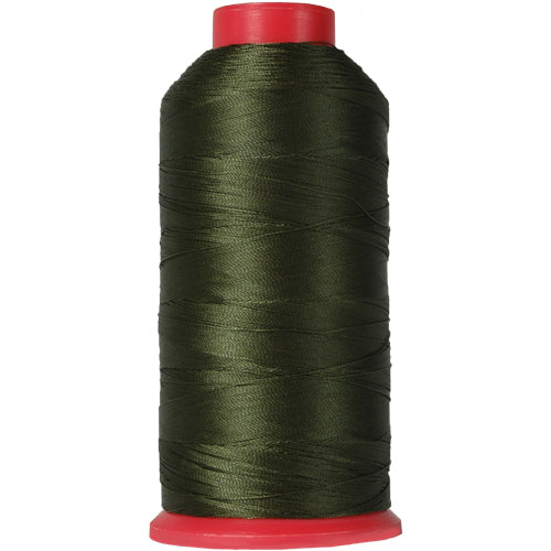 Bonded Nylon Thread - 1500 Meters - #69 - Olive Green - Threadart.com