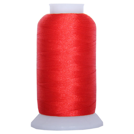 Polyester Embroidery Thread No. 1037 - Foxy Red - 1000M - Threadart.com