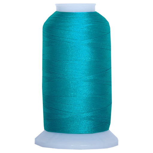 Polyester Embroidery Thread No. 1095 - Bright Peacock - 1000M - Threadart.com