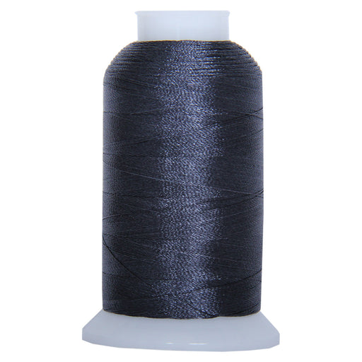 Polyester Embroidery Thread No. 1241 - Charcoal - 1000M - Threadart.com