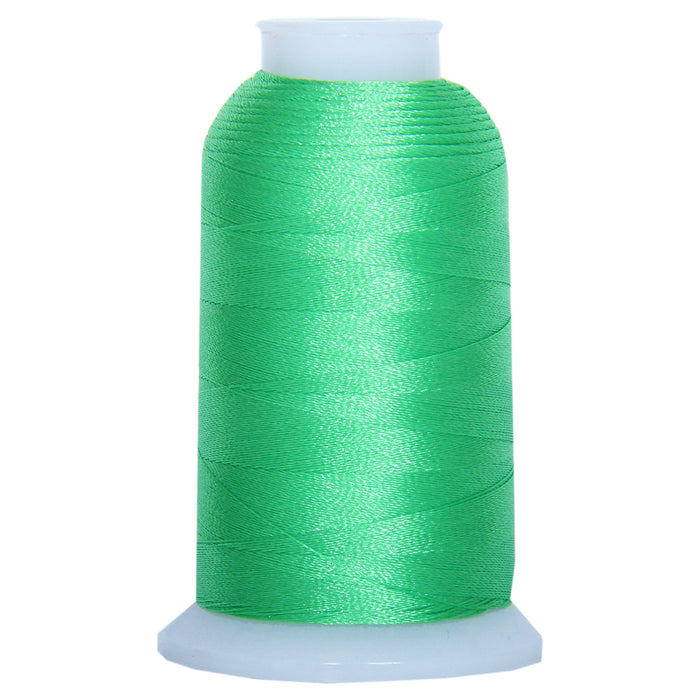 machine embroidery thread color forest green