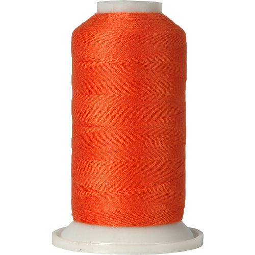 All-Purpose Polyester Sewing Thread No. 112- 600m - Orange - Threadart.com