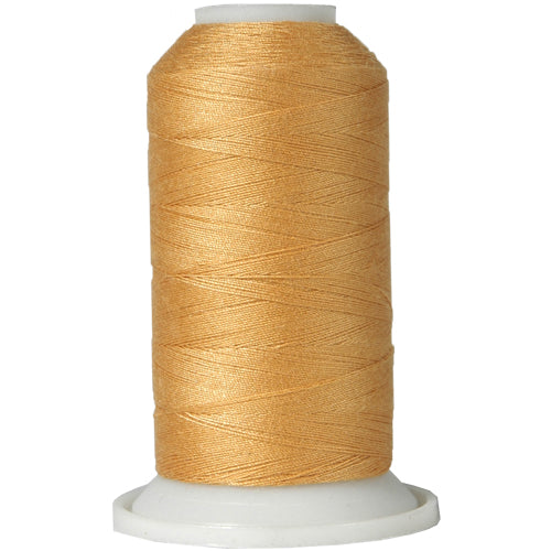 All-Purpose Polyester Sewing Thread No. 121- 600m - Lt Gold - Threadart.com