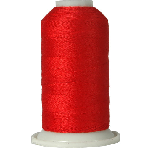 All-Purpose Polyester Sewing Thread No. 148- 600m - Red - Threadart.com