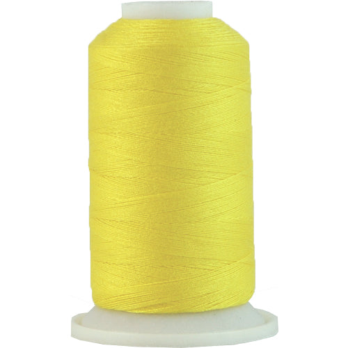 All-Purpose Polyester Sewing Thread No. 154- 600m - Yellow - Threadart.com