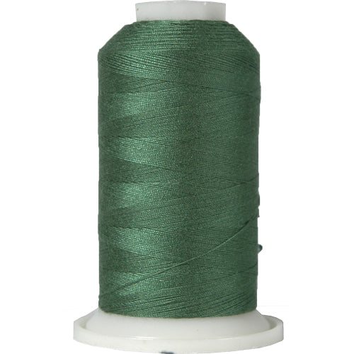 All-Purpose Polyester Sewing Thread No. 225- 600m - Pine Green - Threadart.com