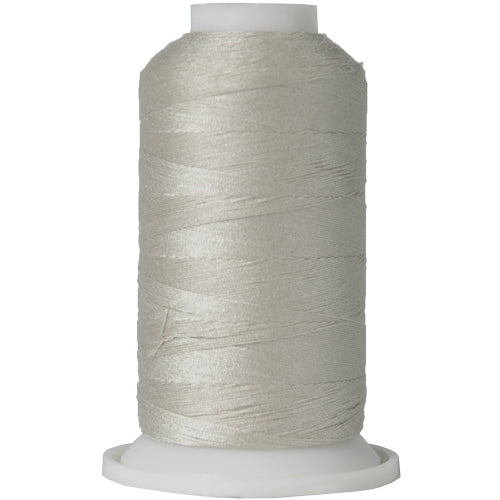All-Purpose Polyester Sewing Thread No. 414- 600m - Silver Grey - Threadart.com