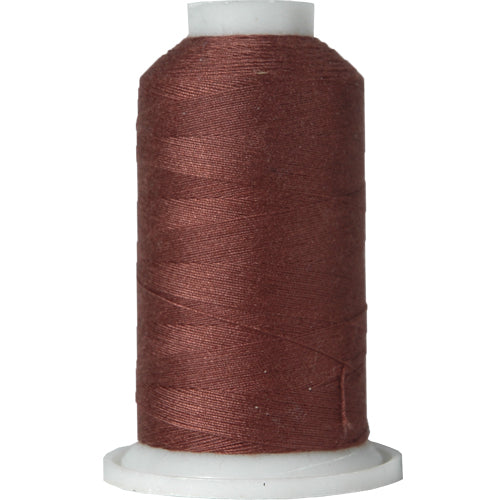 All-Purpose Polyester Sewing Thread No. 425 - 600m - Dk Brown - Threadart.com