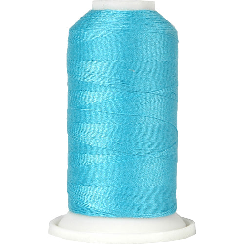 All-Purpose Polyester Sewing Thread No. 464- 600m - Turquoise - Threadart.com