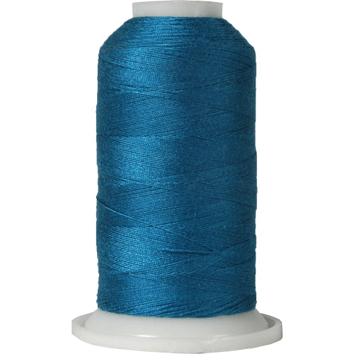 All-Purpose Polyester Sewing Thread No. 470- 600m - Dk Turquoise - Threadart.com