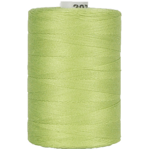 Cotton Quilting Thread - Lime Green - 1000 Meters - 50 Wt. - Threadart.com